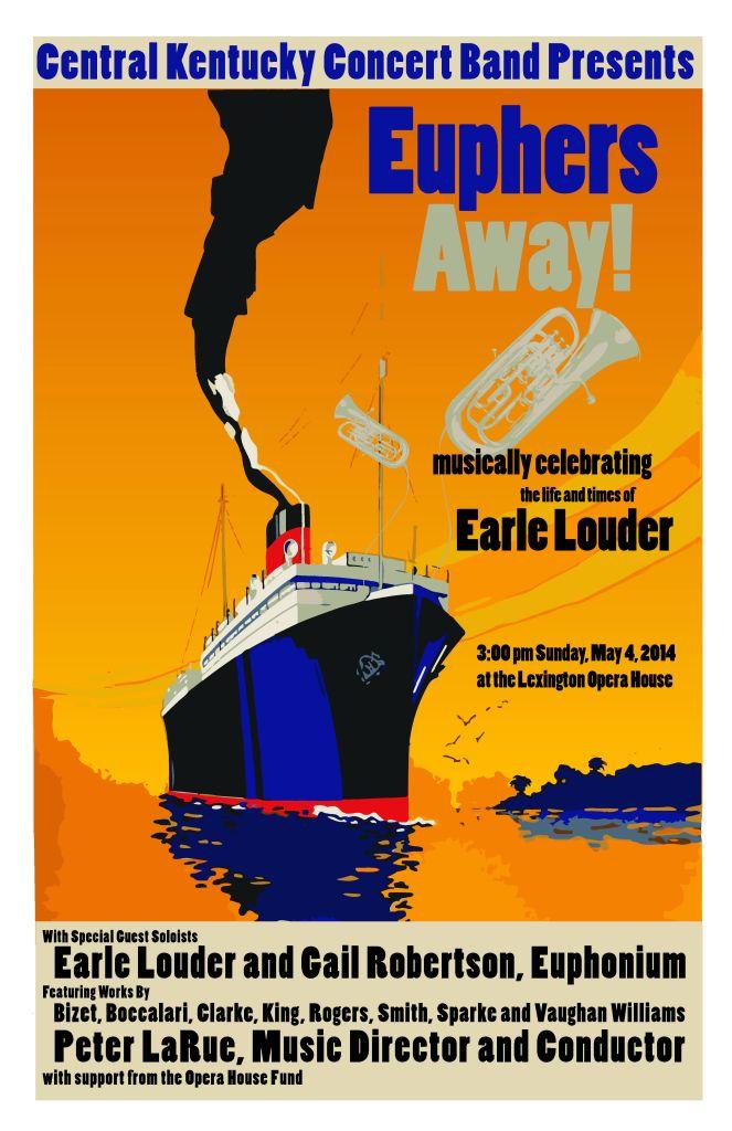Euphers Away Concert Poster